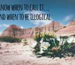 Know when to Call It…and when to be Illogical